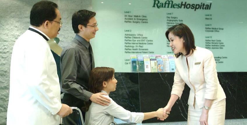 Raffles Hospital Singapore - SINGAPORE, Singapore - Main