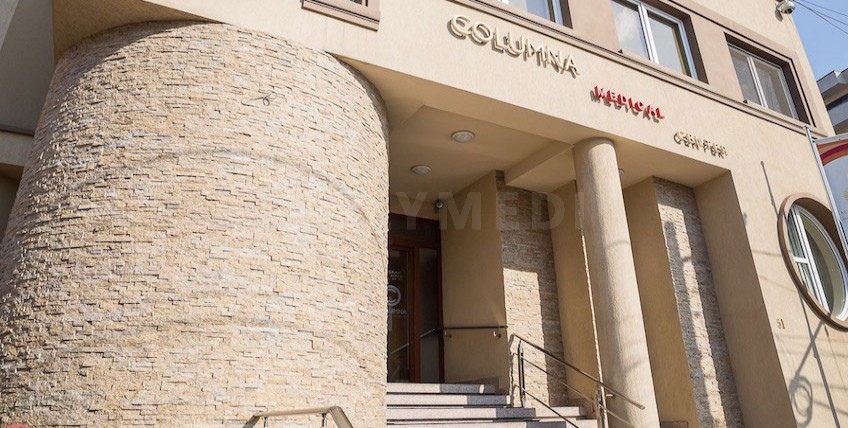 Columna Medizinisches Zentrum - Bukarest, Rumänien - Hauptseite