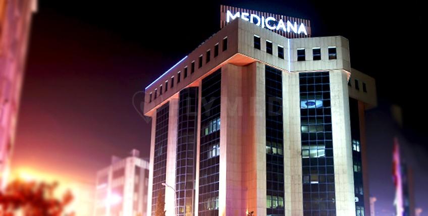 Medicana Camlıca Krankenhaus - Istanbul, Türkei - Hauptseite
